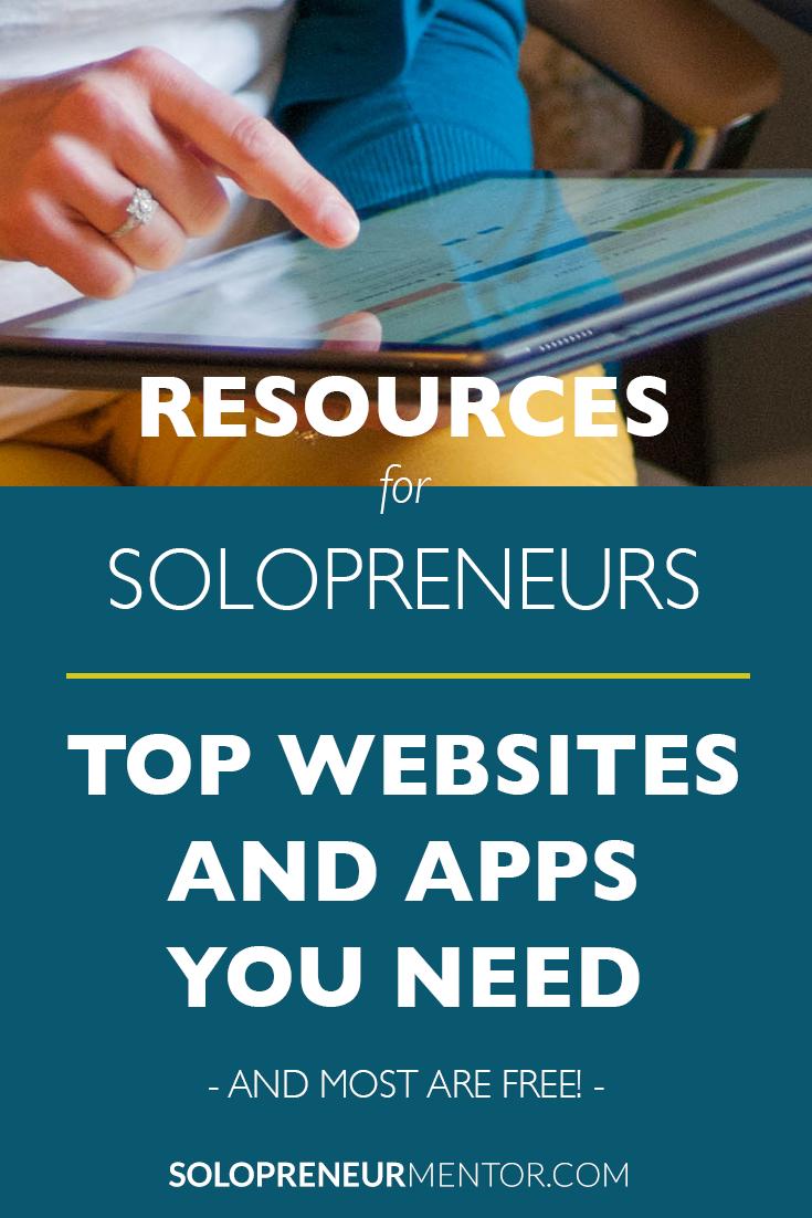 Solopreneur Resource List