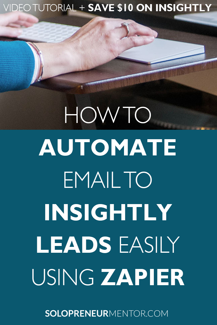 Automate Email to Insightly Leads