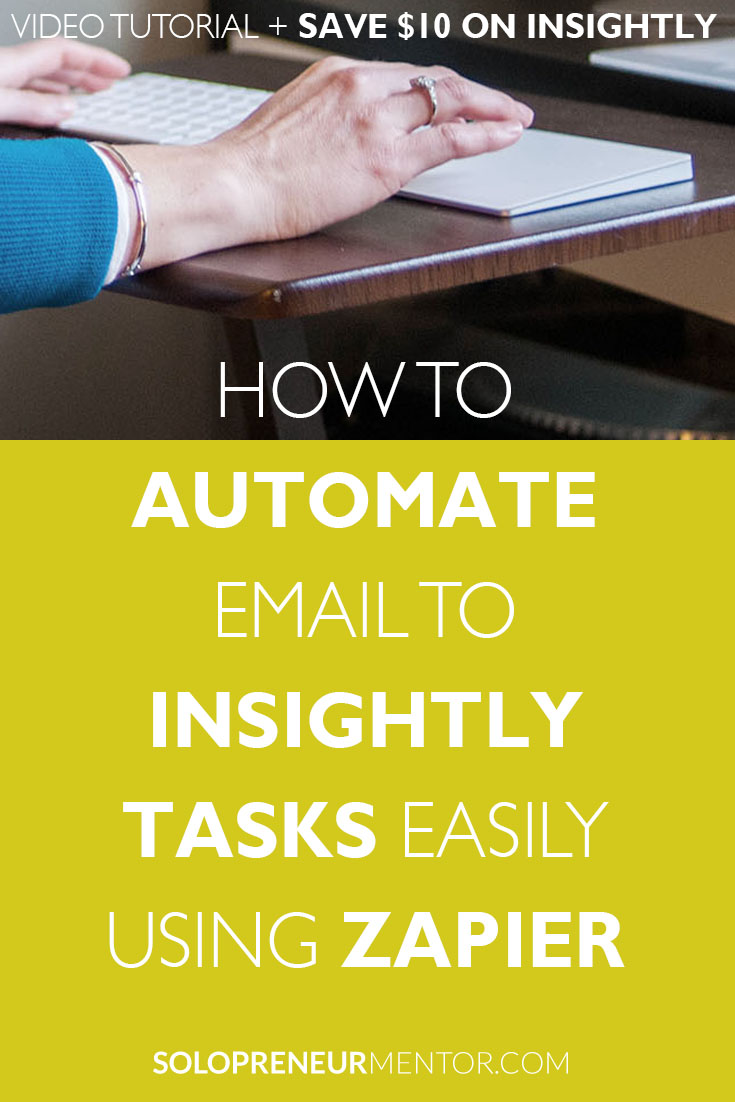 Automate Email to Insightly Tasks