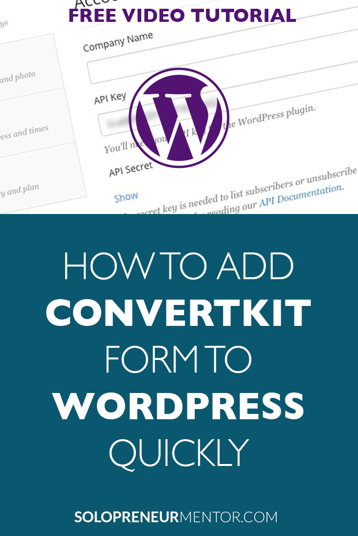 How to Add ConvertKit Form to WordPress Quickly