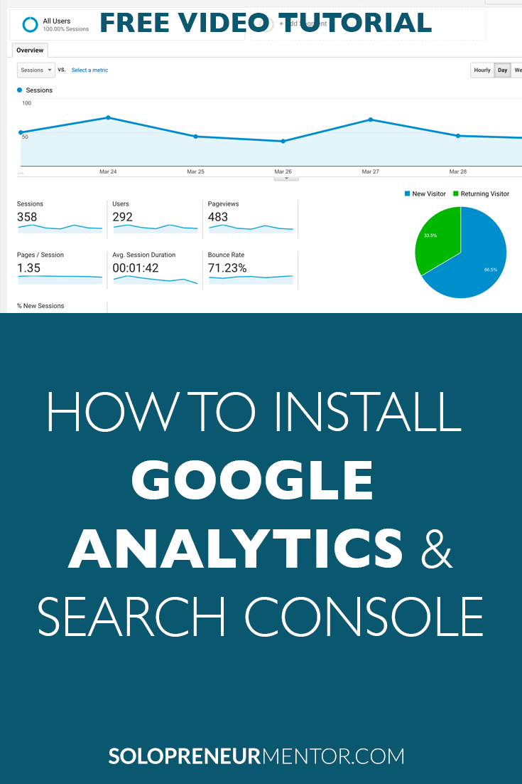 How to Install Google Analytics and Search Console