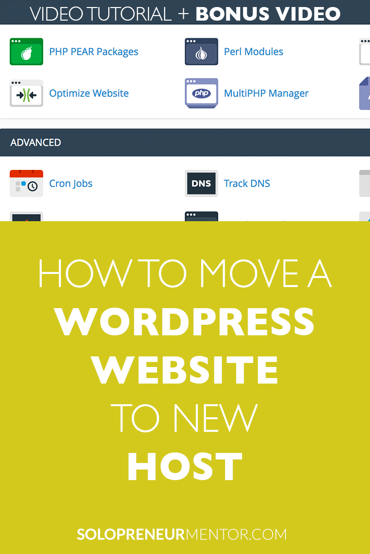 How to Move a WordPress Website to a New Host