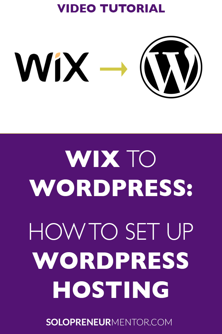 Wix to Wordpress: How to Setup a WordPress Hosting